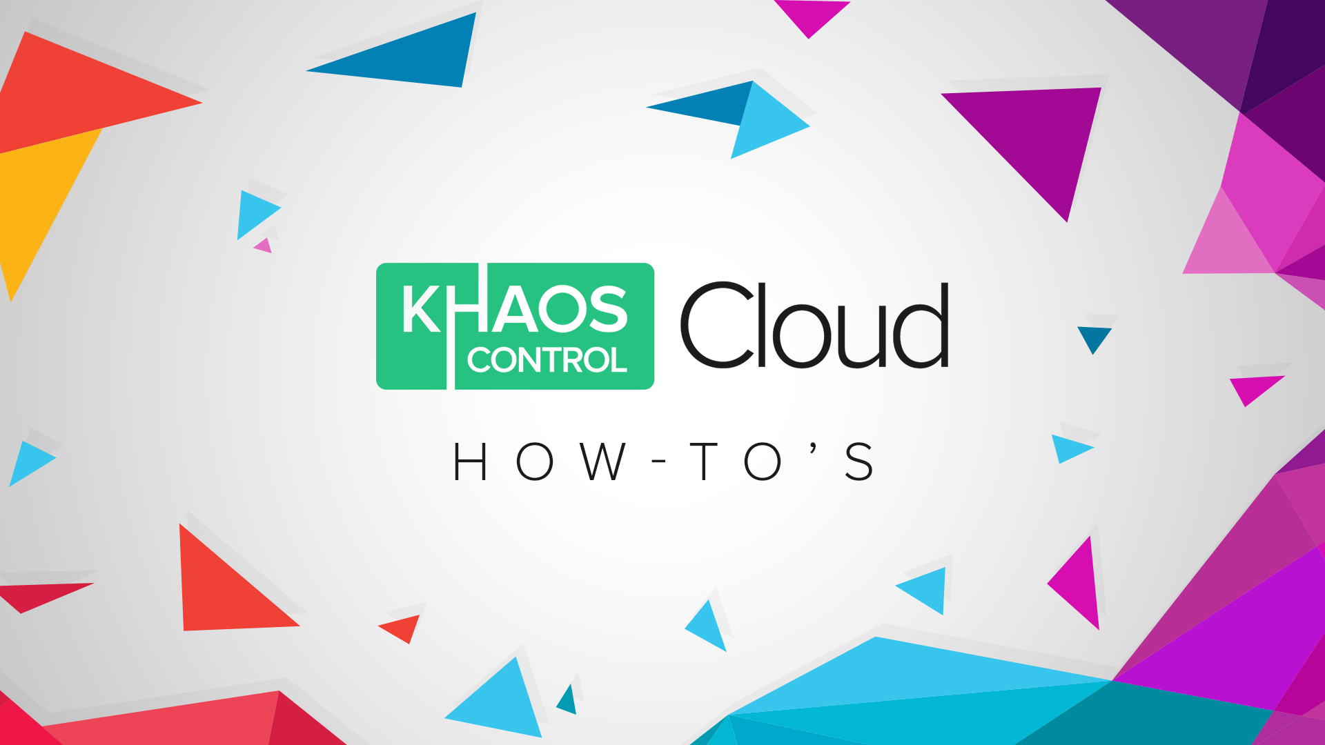 Importing Sales Orders into Khaos Control Cloud